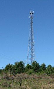 LTE-Basisstation in Neubaugebieten