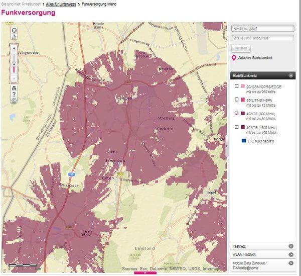 LTE-Karte T-Mobile