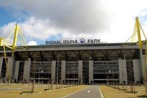Huawei versorgt den Signal Iduna Park in Zukunft mit WLAN (Quelle: Borussia Dortmund)