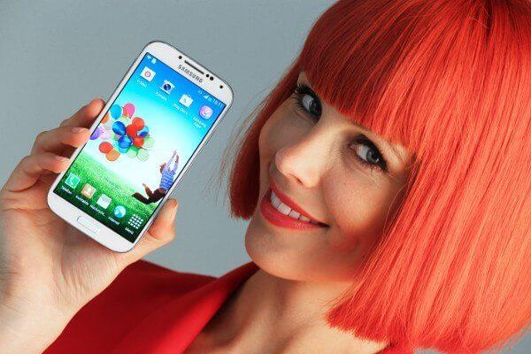 Das Samsung Galaxy S4 LTE-A soll eines der Messe-Highlights werden (Quelle: Pressefotos IFA)