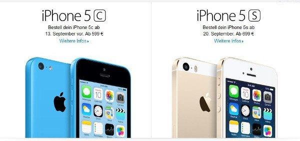 Apple könnte wieder zwei iPhone-Modelle auf den Markt bringen (Quelle: apple.com)