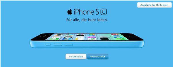 Das iPhone bei o2 vorbestellen (Quelle: o2)