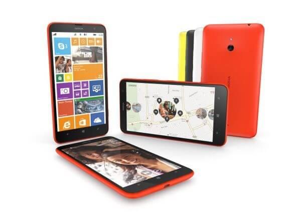 Das Nokia Lumia wird es in Deutschland in den Farben Schwarz und Orange geben (Quelle: Nokia)