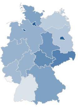 LTE-Karte von 4G.de zeigt eine gute Netzabdeckung in den Stadtstaaten