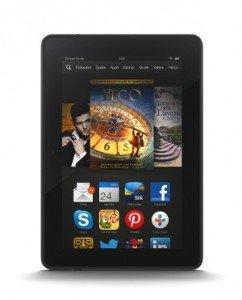 Das Kindle Fire HDX gibt es mit 16, 32 und 64 GB (Quelle: Amazon)