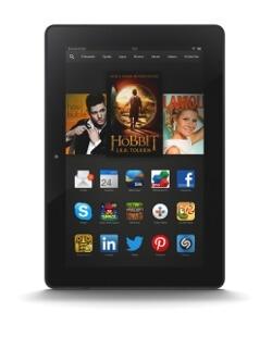 Das Kindle Fire HDX 8.9 ist aktuell nur mit WLAN verfügbar (Quelle: Amazon)