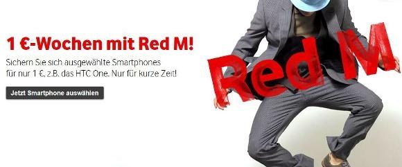 Vodafone bietet bei seiner Aktion drei beliebte LTE-Handys für 1 Euro an (Quelle: Vodafone)