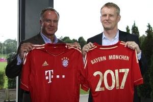 Die Telekom und der FC Bayern kooperieren auch bei der Mobilfunkversorgung (Quelle: Deutsche Telekom)