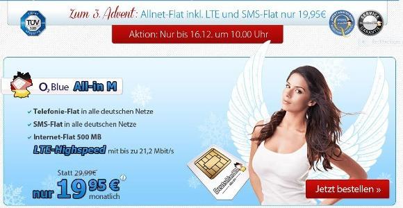 Die Adventsaktion von DeutschlandSIM gilt nur bis zum 16. Dezember (10 Uhr)