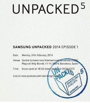 Wie wartet hat Samsung heute das Galaxy S5 vorgestellt. (Quelle: Samsung)