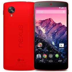 Das Google Nexus 5 gibt es nun auch in Rot (Quelle: LG)