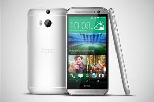 Das HTC One (M8) in Silber (Bildquelle: HTC)