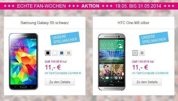 """Zwei Spielmacher bei den """"Echten Fan-Wochen"""" der Telekom (Bildquelle: Deutsche Telekom)"""