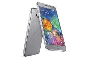 Das Galaxy Alpha in Silber (Bildquelle: Samsung)