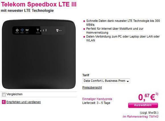 Speedbox LTE III