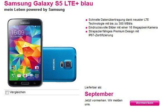 Samsung Galaxy S5 LTE+