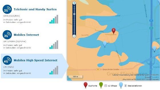 LTE-Karte