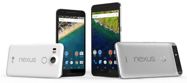 Das Google Nexus 6P und 5X (Bildquelle: Nexus)