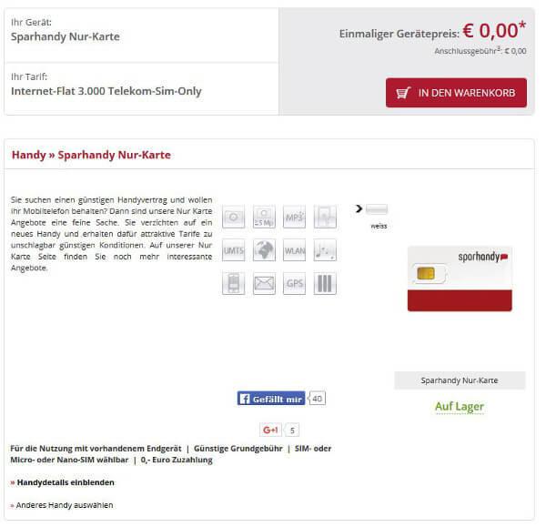 Sparhandy-Internet-Flat-3000