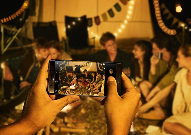 Das Samsung Galaxy Note 7 im Einsatz (Bildquelle: Samsung)