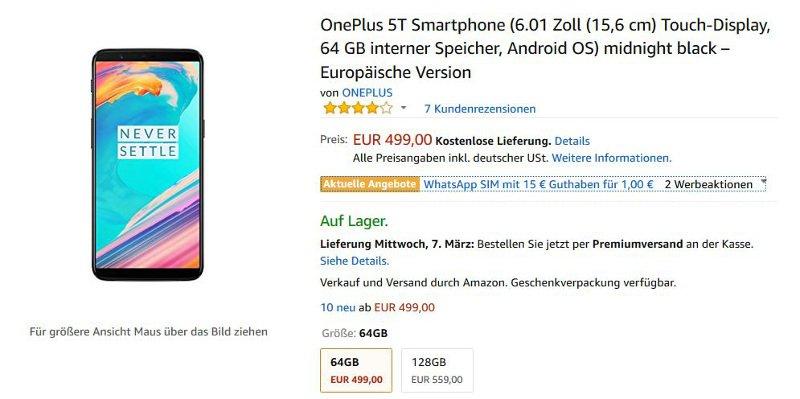oneplus-5t-amazon-64gb