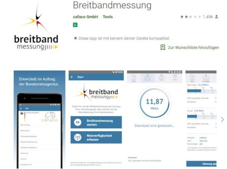 Breitbandmessung