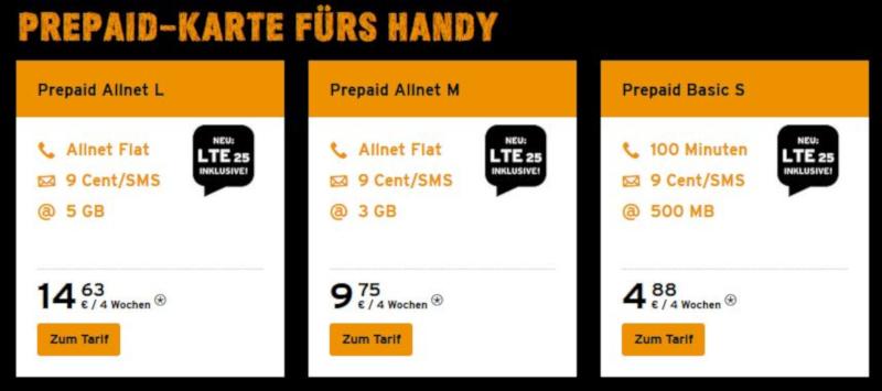 Congstar Prepaid LTE
